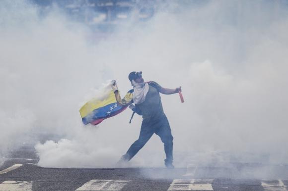 JORNADA DE PROTESTA DE LA OPOSICIÓN EN CARACAS