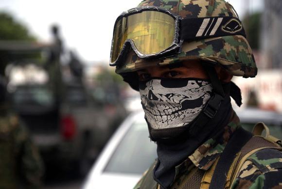 Mex soldier