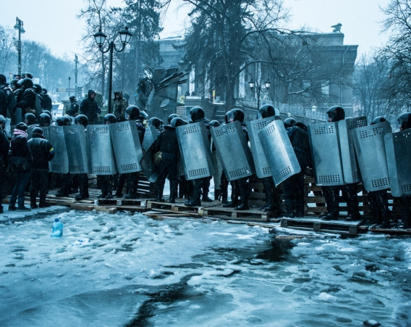 Maidan revolution. Ukraine.